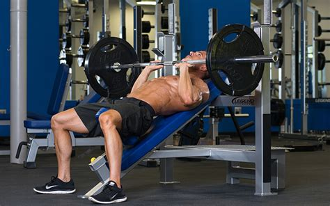 tricep bench press dumbbell 4 barbell exercises to build better tricep strength