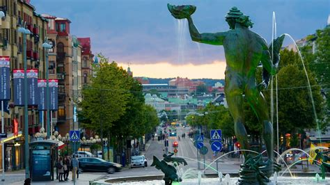 Greek God Statues by Poseidon Statue In Gothenburg Expedia