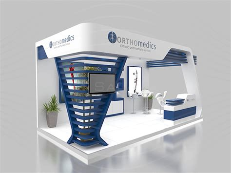 booth layout en francais orthomedics booth on behance
