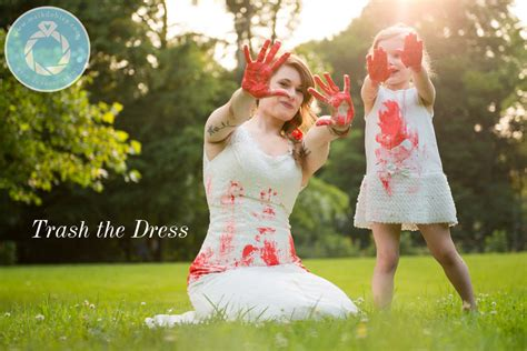 trash the dress mother and daughter trash the dress maik dobiey wedding