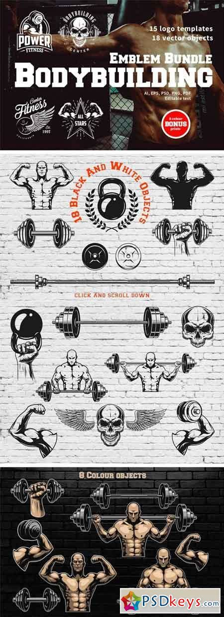 templates bodybuilder for photoshop download logo mock ups 187 free download photoshop vector stock image