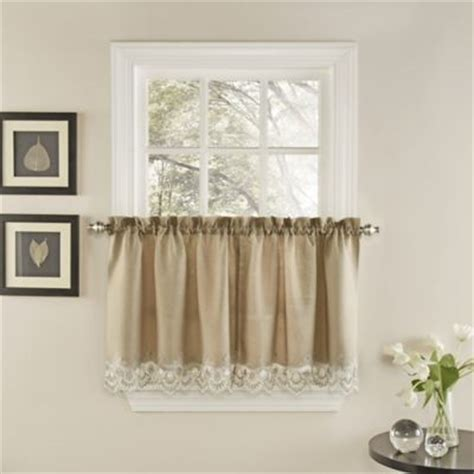 24 inch kitchen curtains buy abby wedgwood kitchen window curtain tier pair 24