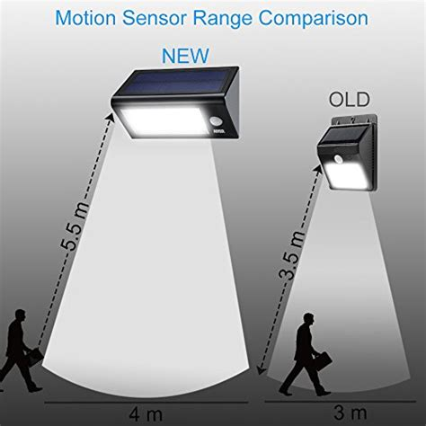 solar motion light led motion sensor light sidardoe solar powered motion