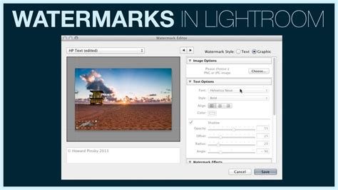 lightroom tutorial watermark how to add a watermark in lightroom 5 lensvid comlensvid com
