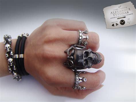 Fs 675 Ring sancti black skull ring sale 49 by tivodar66