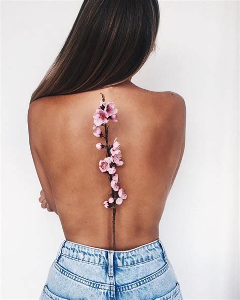 flower tattoos on back flower back flowers ideas for review