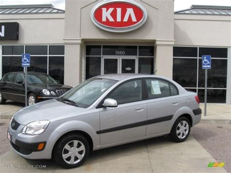 Kia Home 2007 Silver Kia Lx Sedan 7974905 Gtcarlot Car