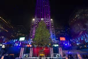 when is the tree lighting in nyc 2014 2014 rockefeller center tree lighting