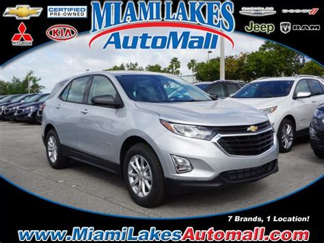 Ls In Miami Lakes by 2018 Chevrolet Equinox Ls Miami Lakes Fl 22688870
