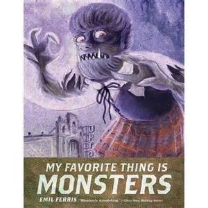 my favorite thing is monsters the emil ferris monsters and stories part