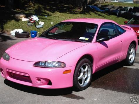 Pink Mitsubishi Eclipse Rs Pinkcarauction