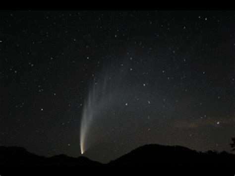 starry night photography comet mcnaught animation