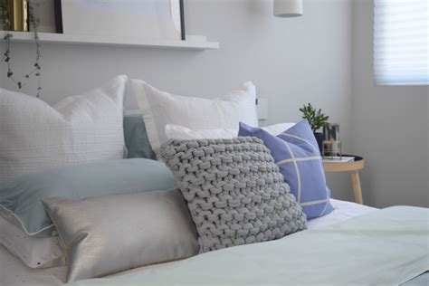 Bed Cushions by How To Style A Bed Like A Pro Bed Styling Tips And Tricks
