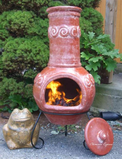 chiminea clay outdoor fireplace chiminea express mexican chiminea circle of friends and