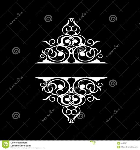 tribal quad tattoo ornate celtic tribal royalty free stock photography