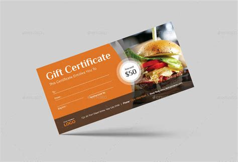 dinner gift certificate template sle gift certificate template 56 documents