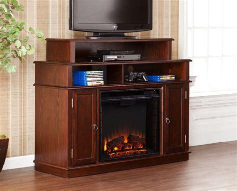 espresso electric fireplace media console lynden electric fireplace media console in espresso fe9391