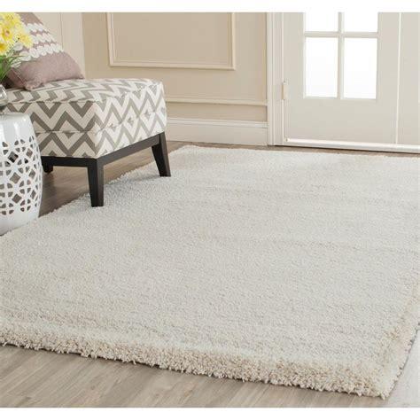 ivory rug safavieh milan shag ivory 6 ft x 9 ft area rug sg180