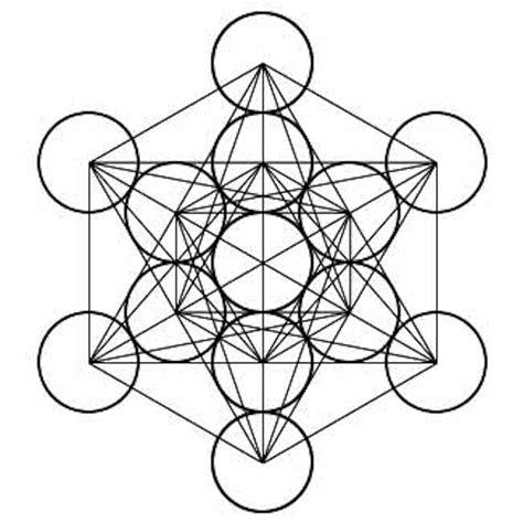 Balance Cube metatron s cube radial balance balance geometry designs and geometry