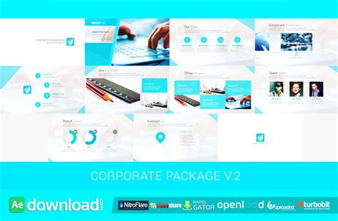 Videohive 2 After Effect Template corporate package v 2 free videohive template free after effects template videohive