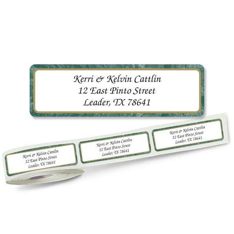 butterflies designer rolled return address labels green border designer rolled address labels current catalog