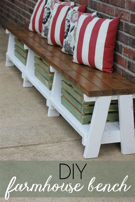 bench diy wood storage bench diy image mag
