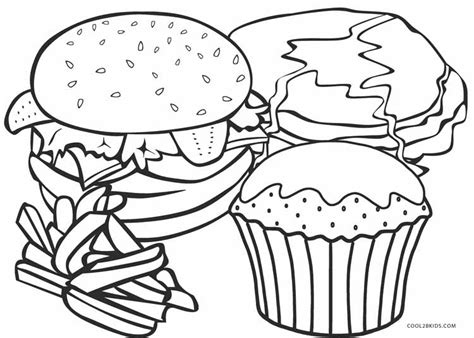 food coloring free printable food coloring pages for cool2bkids