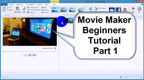 tutorial for video editing windows movie maker tutorial 2015 tips tricks best