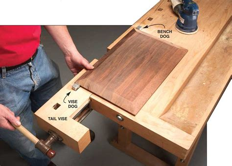 whats  tail vise popular woodworking magazine