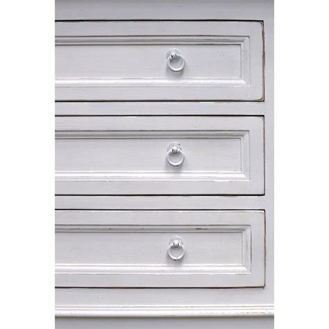 Commode Interiors by Commode 3 Tiroirs Blanc Interior S