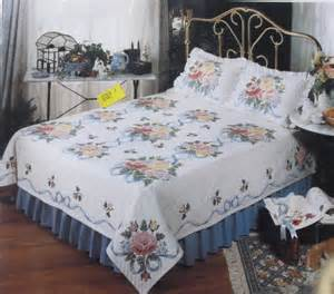 vintage bucilla quilt and pillow shams kit colorful by