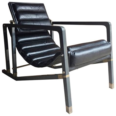 iconic chairs of 20th century iconic transat chair by eileen gray manufactured by aram