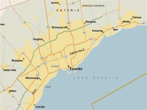 america map toronto toronto map usa image search results
