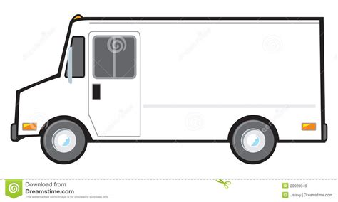 Ups Delivery Truck Clipart Clipart Panda Free Clipart Images Blank Food Truck Template