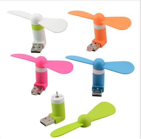 Mini Usb Fan With 2 In 1 Pen Holder by Usb Micro Usb Mini Fan 2 In 1 For Cell Phone Desktop