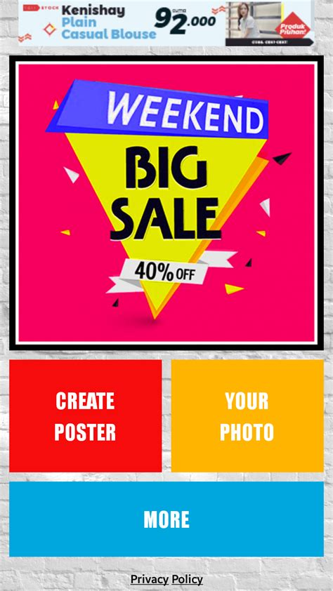 tutorial membuat poster event cara mudah bikin poster iklan di android kamu awiopen