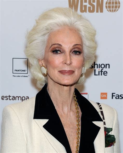 70 year old beauty carmen dell orefice pictures wgsn global fashion awards