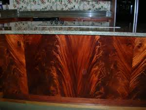 cherry and mahogany crotch kitchen cabinets studiok