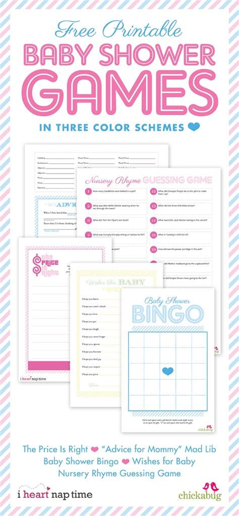 Baby Sweepstake Template - 20 printable baby shower games that are fun to play tip