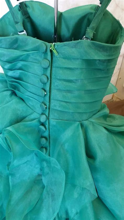 Flower Dress 8950 infant baby wedding flower dress with ruffle