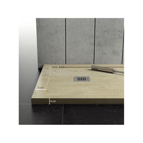 piatti doccia in resina prezzi piatto doccia in marmo resina con bordo effetto legno