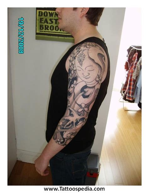 mens three quarter sleeve tattoo ideas 3 quarter sleeve tattoos for men 1