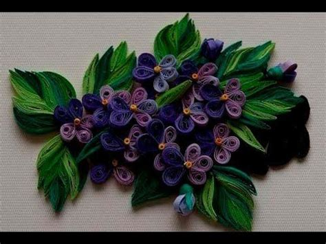 How To Make Flowers With Paper Strips - quilling made easy how to make quilling flower with