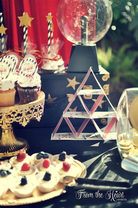 magic theme decorations vintage magician themed birthday on wayne