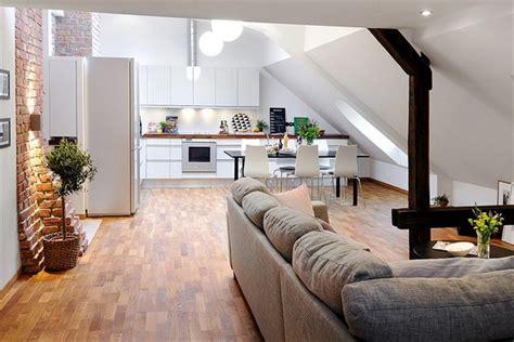Open Floor Plan Office Ideas Gorgeous Penthouse Apartment In Gothenburg Sweden