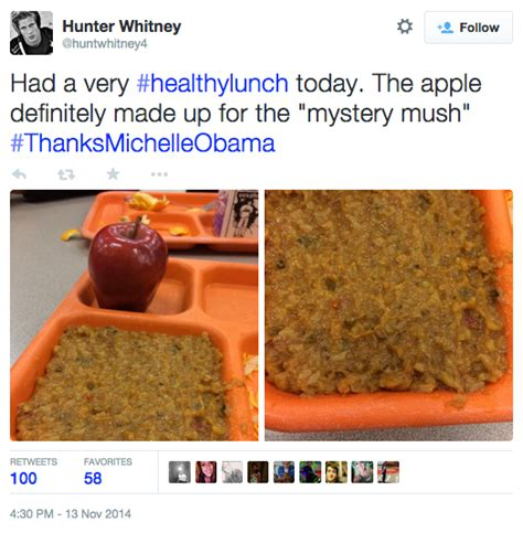 School Lunch Meme - thanksmichelleobama know your meme