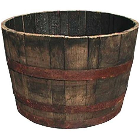 Half Whiskey Barrel Planter by Gardening Supplies Other Garden Products For Your