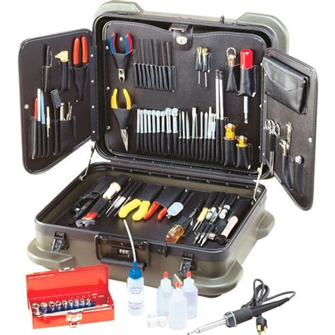jensen tools jtk  electronic technicians service kit