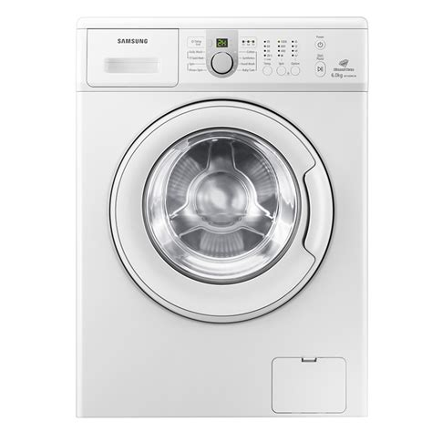 Mesin Cuci Samsung Eco 8 5 Kg buy samsung wf1600ncw 6 0kg front load fully automatic washing machine white at best