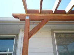 Pergola Post Supports by Deck How Do I Keep My Corner Pergola From Wobbling